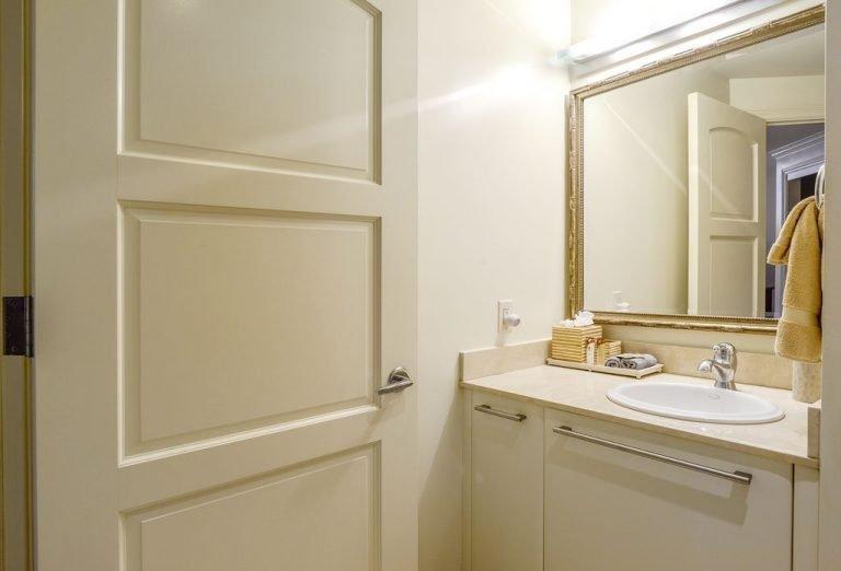 En Suite Bath in Second Bedroom on Lower Level