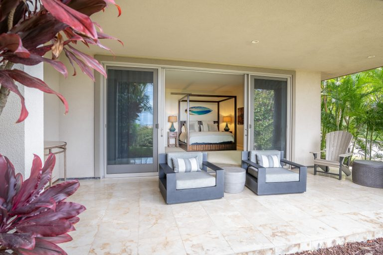 Private Lower Lanai Outside Master Bedroom