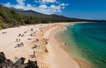 Big Beach, a few miles from Maui Breeze Retreat at Ho'olei