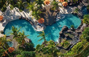 Aerial View of Ho'olei Swimming Pool