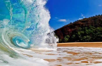 The Waves at Big Beach