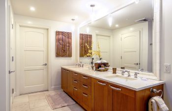 En Suite Master Bath has Dual Sinks