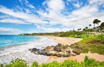 Wailea Beach, The Nearest Beach, Is 1/3 Mile In Distance From Ho'olei