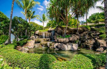 Waterfalls at Ho'olei